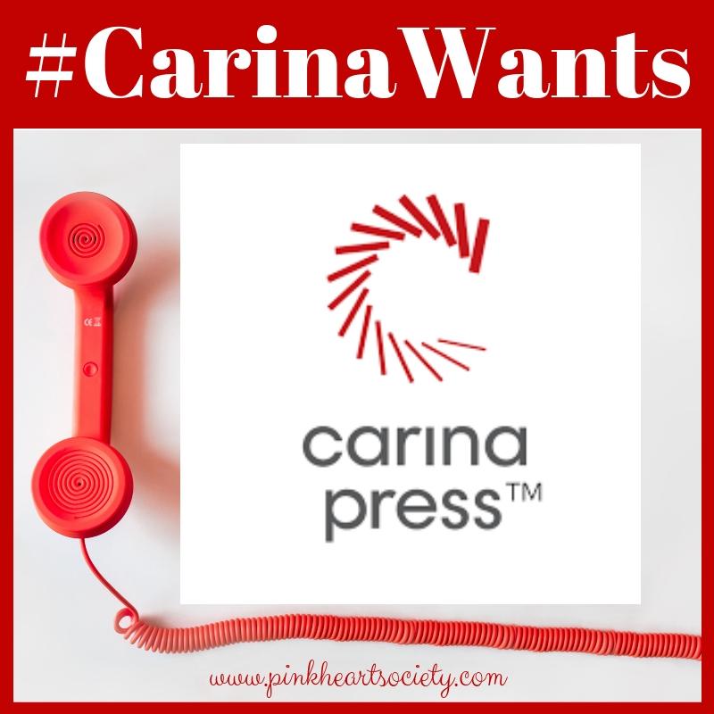 Carina Press is Acquiring