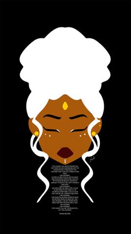 I AM WOMAN (Naomi Wachira song lyric edition)