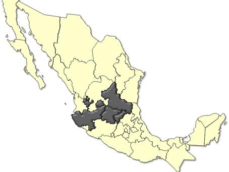 Se contrae la región de la Alianza Centro-Bajío-Occidente