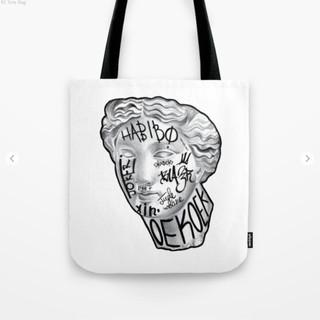 Taged Tote Bag