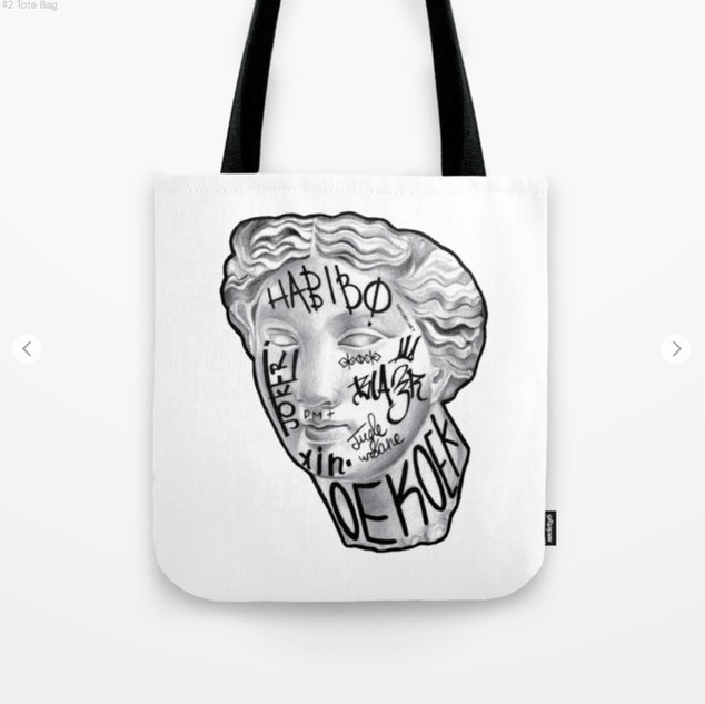 Taged Tote Bag