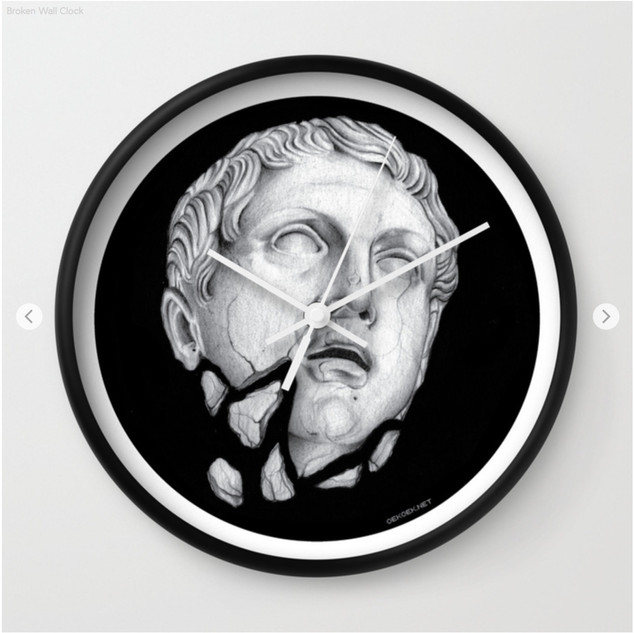 Broken Wall Clock