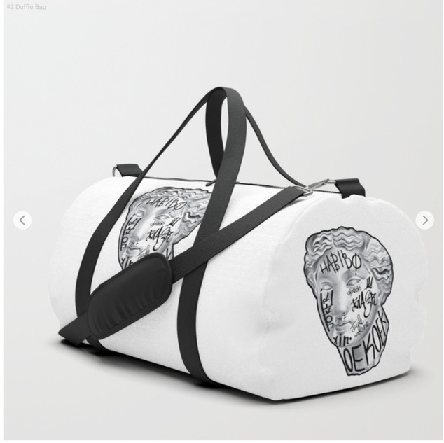 Taged Duffle Bag