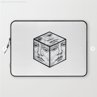being out of the box Laptop Sleeve