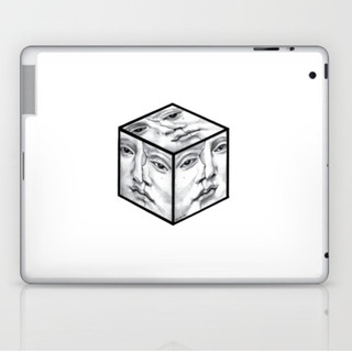 being out of the box Laptop & iPad Skin