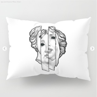 Ups and Downs Pillow Sham