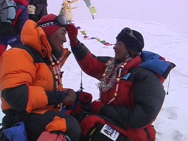 Wedding on the top of Everest
