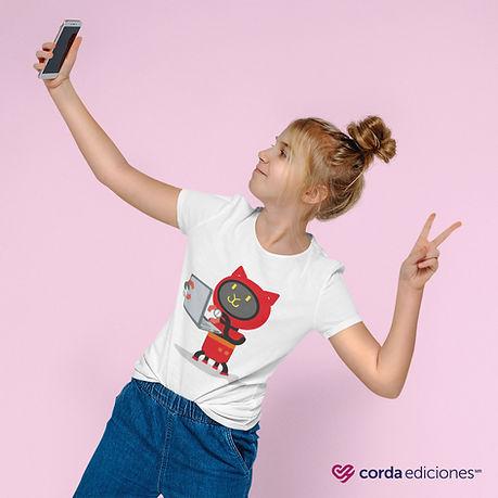 t-shirt-mockup-of-a-girl-taking-a-selfie