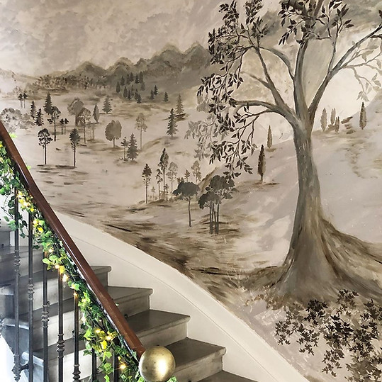 Grisaille Staircase