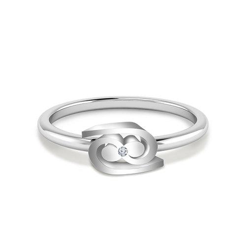 Cancer Symbol Ring