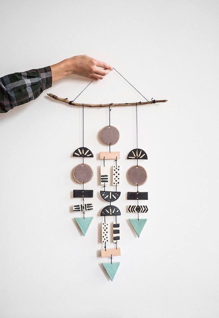 handmade craft wall hanging creative project