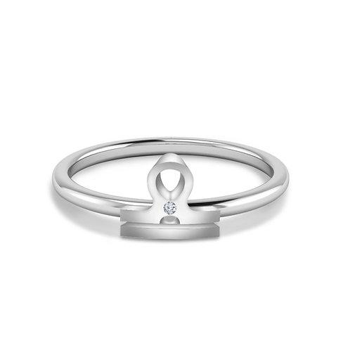 Libra Symbol Ring