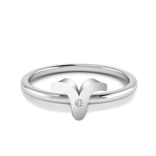 Aries Symbol Ring