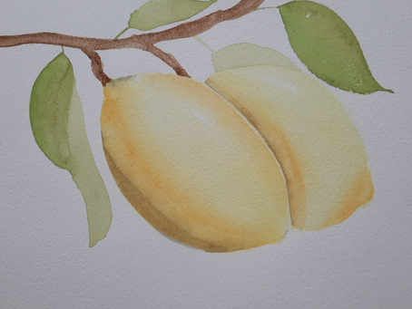 Finding Calm in Watercolour