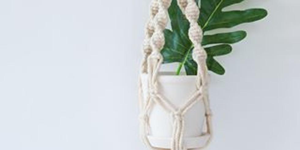 September Box - Macrame Plant Pot Hanger - £24.99