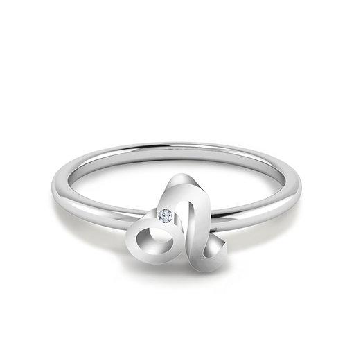 Leo Symbol Ring