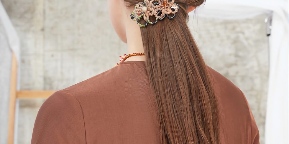 July Member's Upgrade - Glass Bead Hair Clip - £7.49