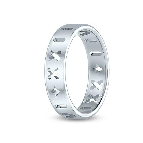 Cancer Roman Ring