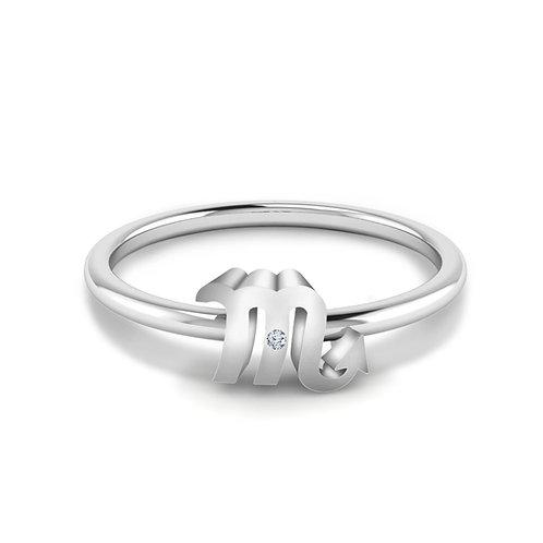 Scorpio Symbol Ring