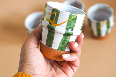 Green Repaired Cup
