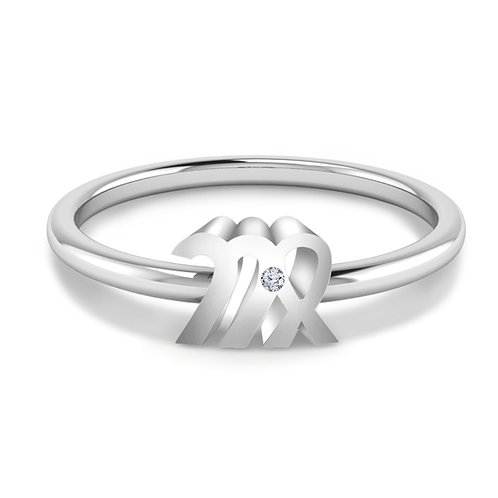 Virgo Symbol Ring