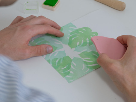 """""""Lino printing strikes the right balance of slow, mindful crafting and pretty quick gratification"""""""