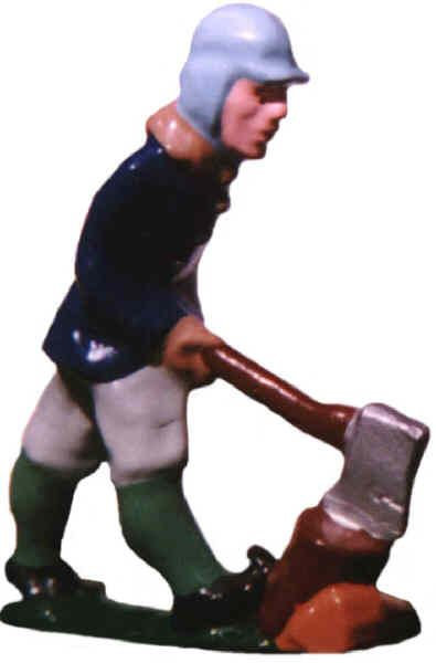 #102 - Man Chopping Wood