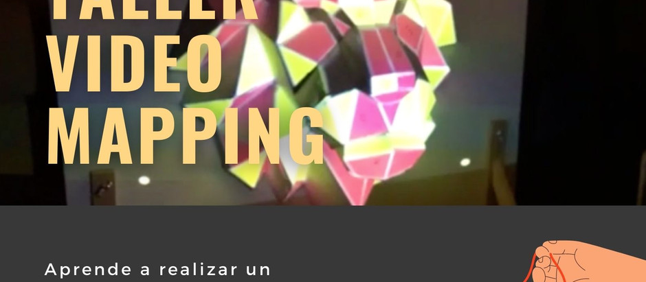 "Taller Tecnocreativo ""Videomapping"" en Navarrete"