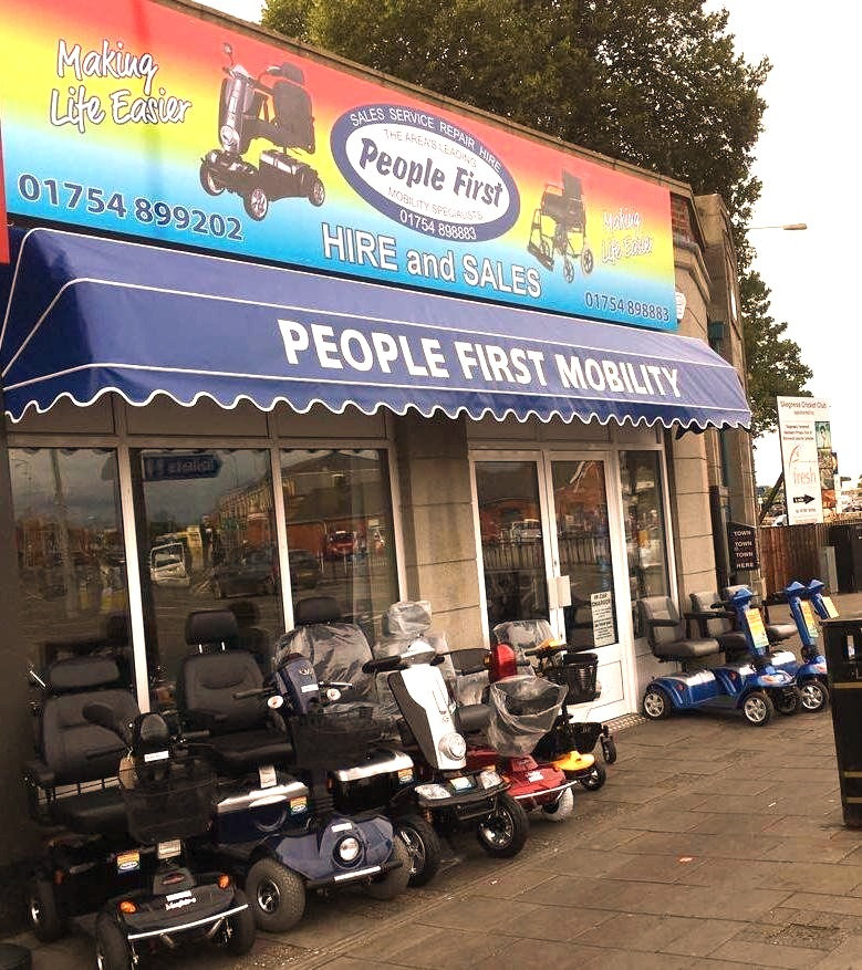 mobility scooters, walkers, retail, shop, skegness, sales, discount, hire