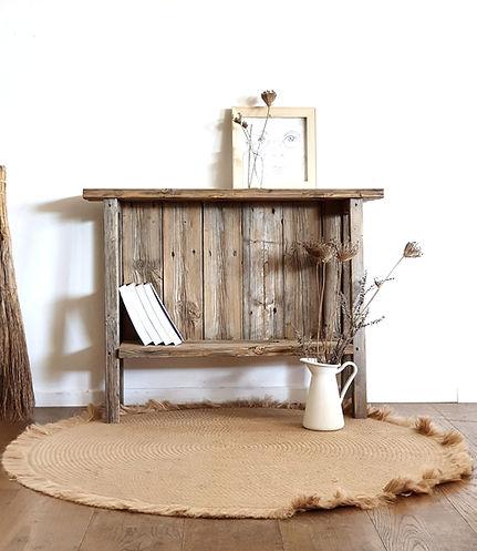 אלטע-שיק רהיטים מעץ ממוחזר