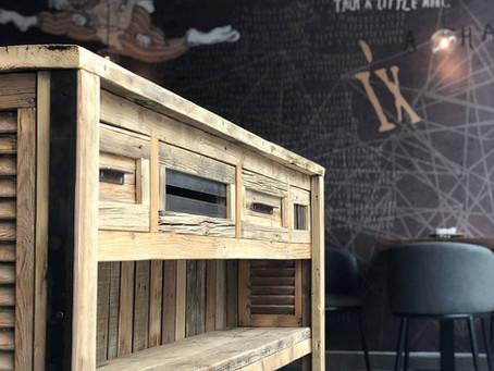 רהיט מעץ ממוחזר – כל היתרונות