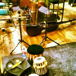 Tabla/Michael Colina session w/RSNO