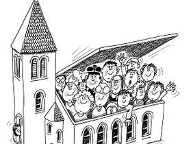 De l'église à l'Église !