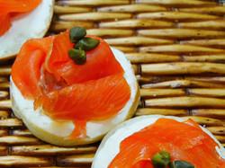individual bagel salmon 4.3