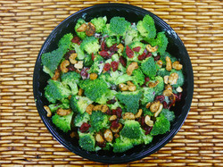 salad broccoli cranberry cashew