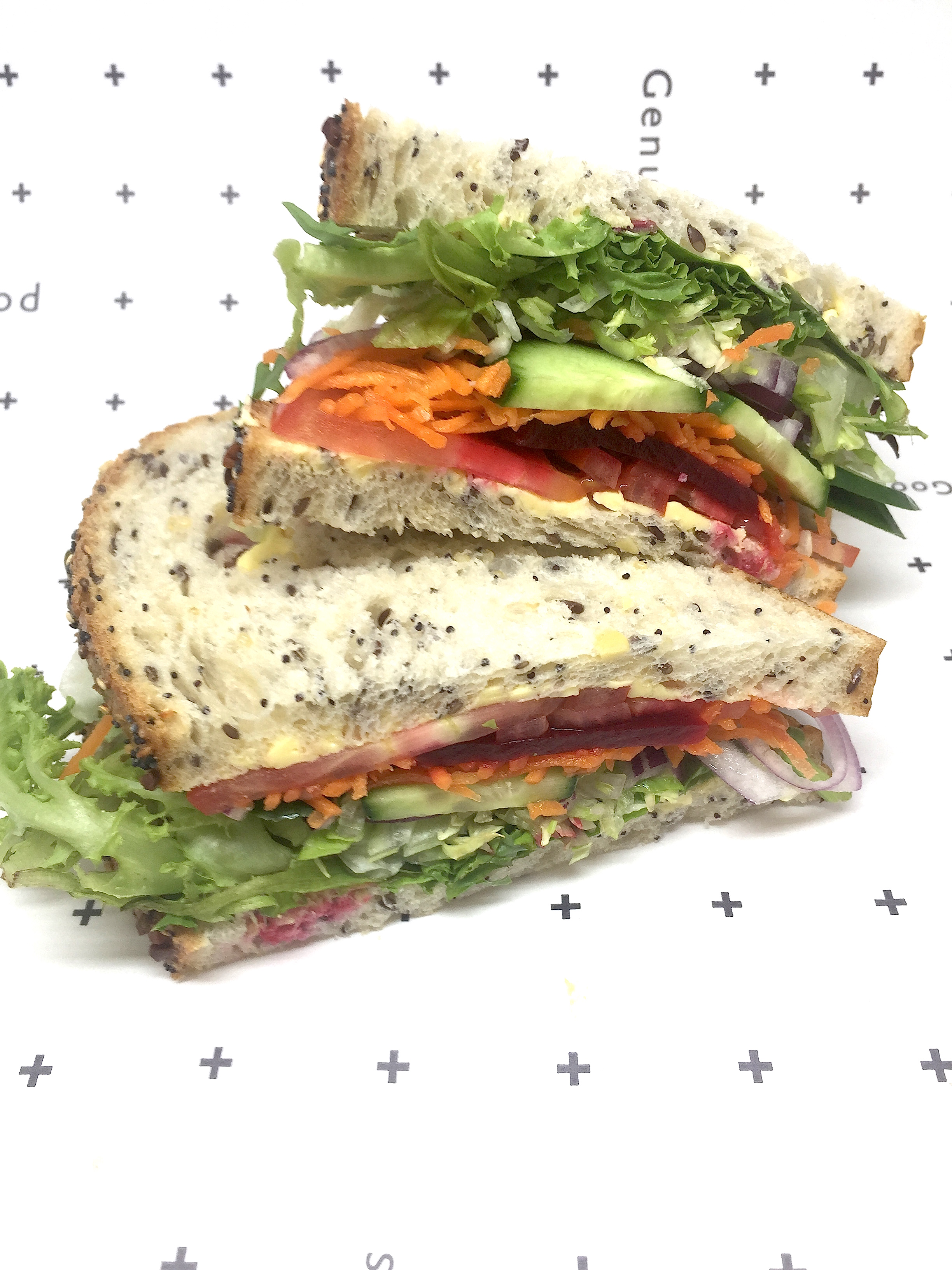 35 vegetarian sandwich box