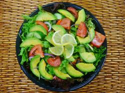 salad garden w avocado