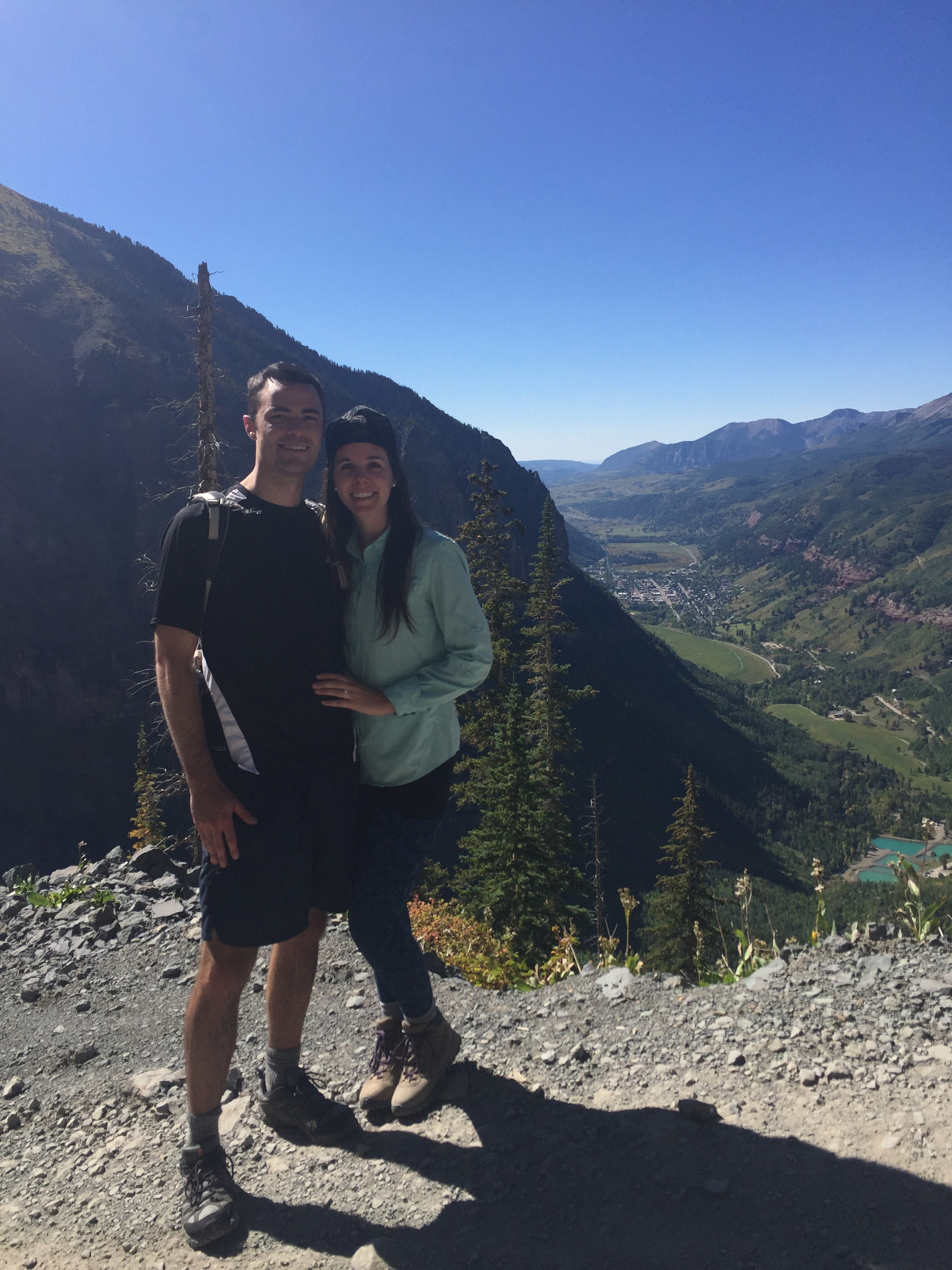 Cameron and Kelly in Telluride