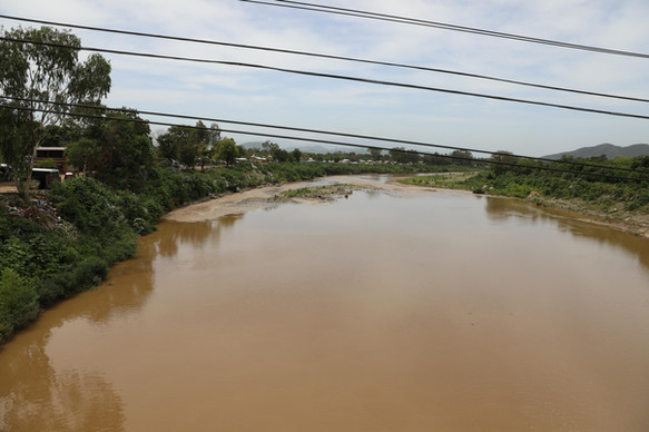 Chamalecón River, department of Cortes, in Honduras.