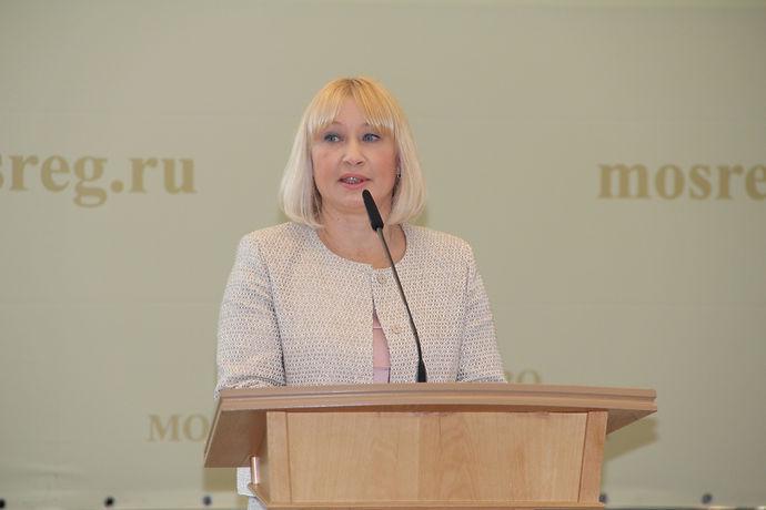 Министр социального развития Московской области Ирина Клавдиевна Фаевская