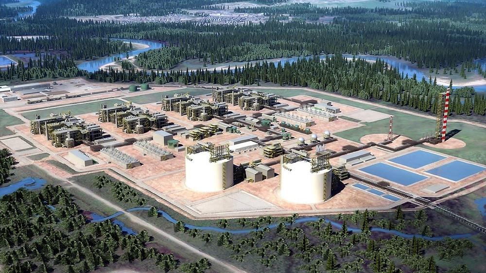 LNG Canada Kitimat, BC