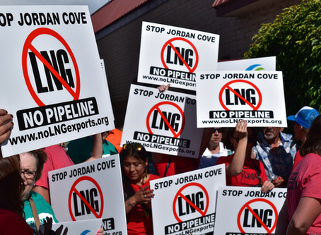 Thousands Tell FERC: No Jordan Cove, No Pipeline for Oregon!