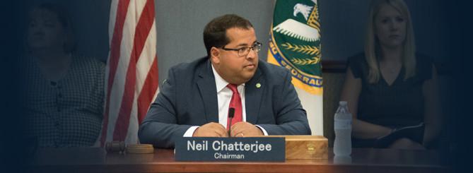 FERC Chairman Neil Chatterjee