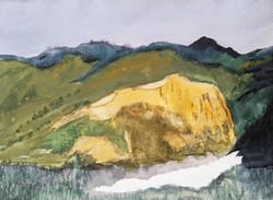 Creede, Colorado  watercolor on paper