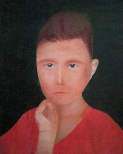 Afghan Refugee Boy 9001