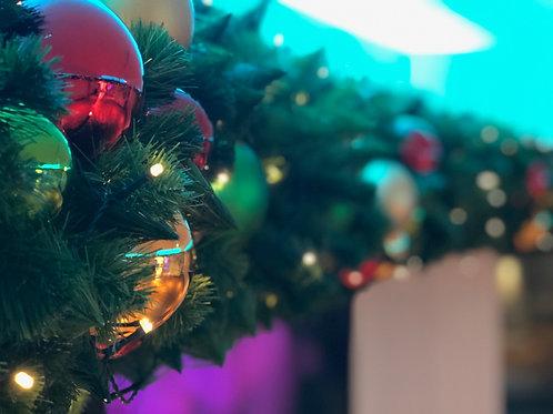 Christmas Garlands -Jewel Tones