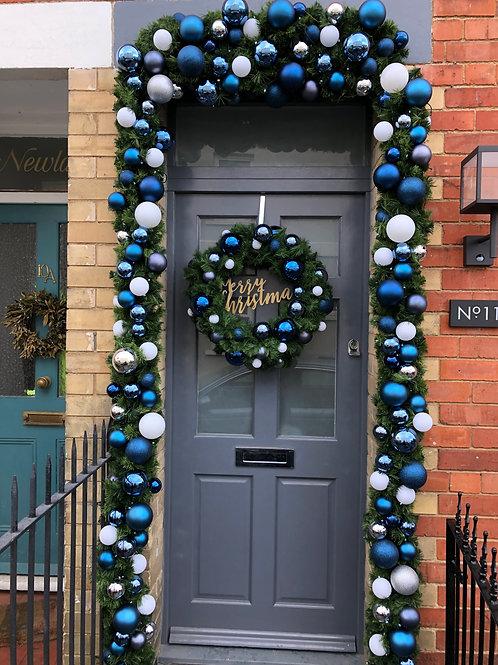 Winter Wonderland - Christmas Door Garland & Wreath