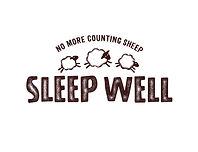 Sleep Well - Landscape Logo (preferred o