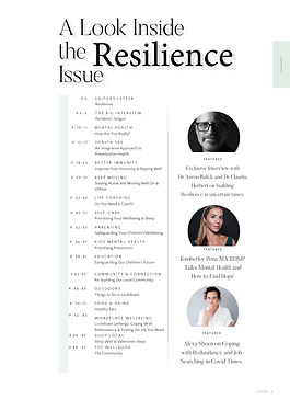 The WellBook Resilience Issue FEB 20213.
