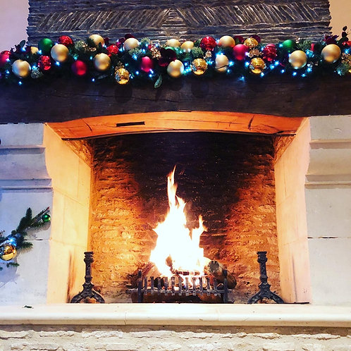 Christmas Mantlepiece Garland